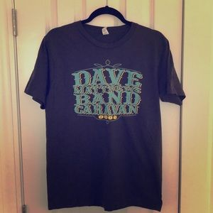 Dave Matthews band concert tee medium